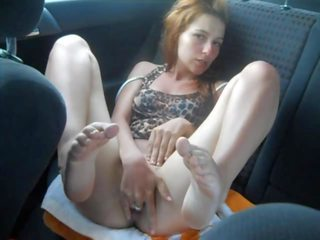Fingering in Car: Free In Car Porn Video 8f