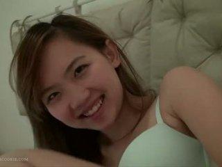 حقيقي محلية الصنع الآسيوية 18yo في سن المراهقة جنس
