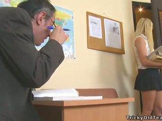 maldito, estudante, hardcore sexo