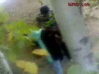Arab iranian meitene fucked uz the pakaļa uz the woods