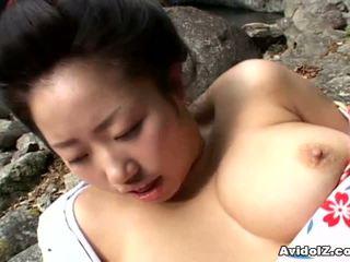 Сексуальна geisha kotone yamashita трахкав жорсткий