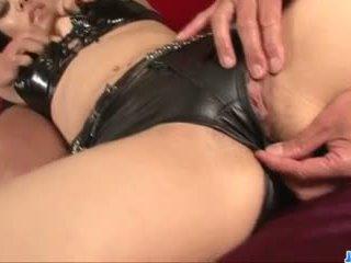 Maria ozawa plays gemeen in aziatisch hardcore bondage tonen
