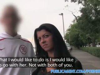 Publicagent skaistas brunete fucked uz viesnīca kā viņai bf waits ārpuses
