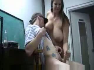 big tits, moms and boys