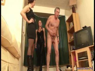 spīdzināšana, 3some, augstiem papēžiem