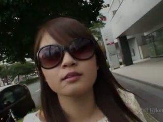 morena, japonês, sexo ao ar livre