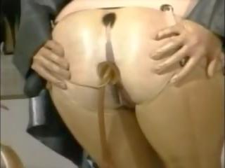 femdom, dildo, latex