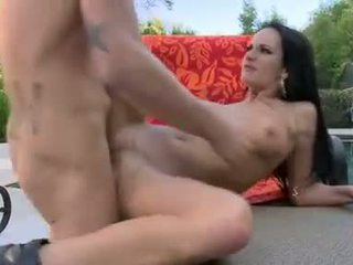 Alektra Blue Bend Over For A Fuck At The Bench Outdoor