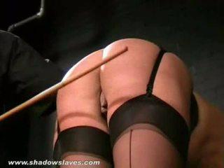 English sišana un pērieni no bruised blondīne slavegirl crys