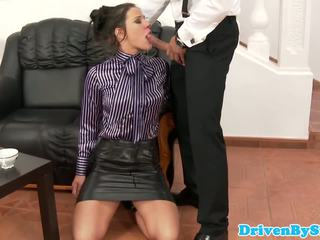 Submisive mieze anita throathed und jizzed