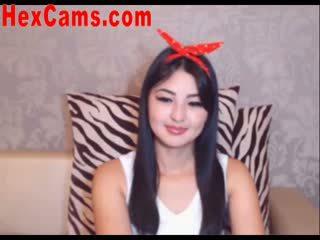 Caldi asiatico webcam ragazza mini gonna 2