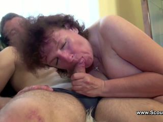 Mom caught german boy and get fucked in all holes