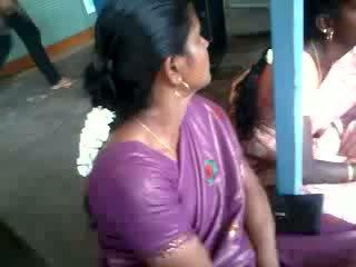 Satiini silkki saree aunty, vapaa intialainen porno video- 61
