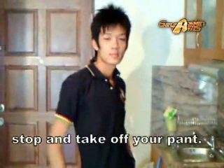 Homo aziatisch slet gets misbruikt!