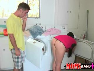 Red hot MILF Eva Karera enjoys threesome