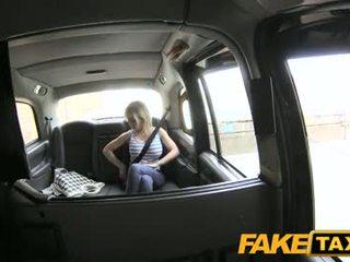 Fake taxi tenger groot tieten en vies