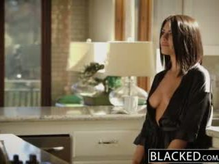 Blacked rjavolaska adriana chechik takes trio od bbcs
