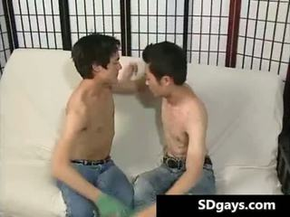 Two asian tw-nk banging each other