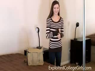 Realidade casting de universidade estudante