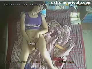 Spying my toying Mum with a ceiling camera Video