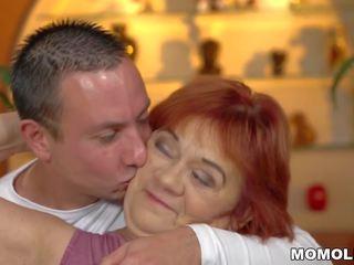 Old Granny Marsha: European HD Porn Video 81