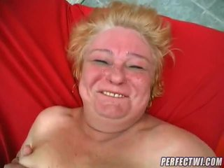 Plump Granny Ready For Dick