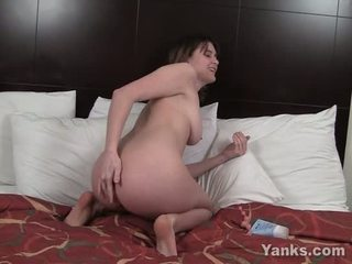 Sexy Sosha Rub Asshole And Toy Slit
