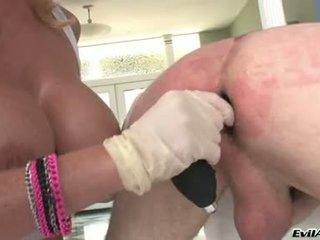 Sophie dee drill the ตูด ของ lewd guy โดย เธอ ดิลโด้