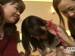 Subtitles nők ruhában, férfiak meztelen japán csoport bizar fityma csésze