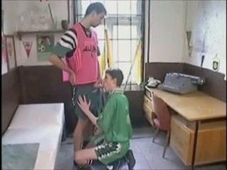 Voetbal punks zonder condoom