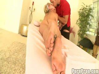Erotic Shawna Lenee Close To Huge Tits Likes Massage