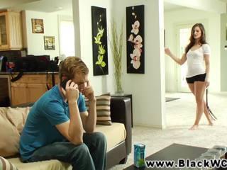 Lily carter zajebal s a črno guy