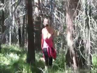 Kelly madison loves seks / persetubuhan dalam yang woods