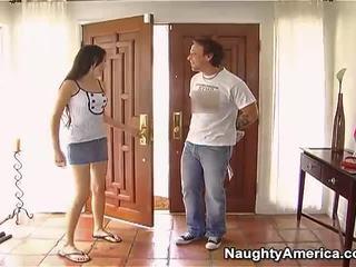 Nakal darky haired sasha grey making love onto erotic america