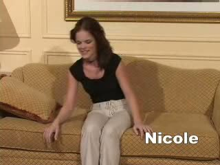 Hypno Nicole hypnotized and had her strongest orgasm of her life.