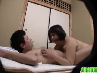 Ιαπωνικό ώριμος/η loves να πάρει αυτό σκληρά τρόπος