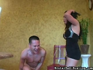 Brutal Ball Beating Brings You Ballbusting X Rated Movie