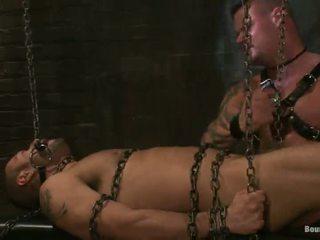 Duchess sadism process involving chain tied un dibens drilling