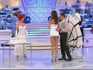 Alessia fabiani gorące pod spódniczkę na żyć telewizja - białe pan