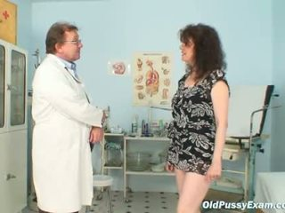 Karla visits gyno clinic with extremel...