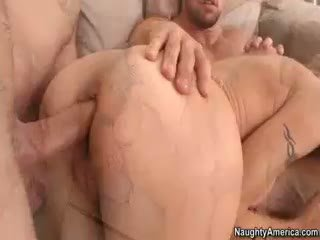 big boobs, threesome, pornstar