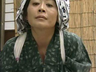 japonés, ama de casa, asiático