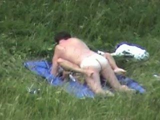Parksex Sex In The Gras