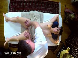 Veldig tricky spa av sulten masseur