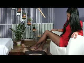 Goddess amy sikil proyek - bootjob - sepatu proyek