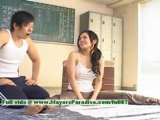 Sora aoi quente gaja encantador chinesa modelo enjoys getting teased