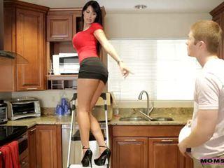 Anya tanít szex - neki boyfriend jizzed tovább neki anya cicik