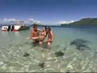 pludmale, mmf, pornozvaigžņu
