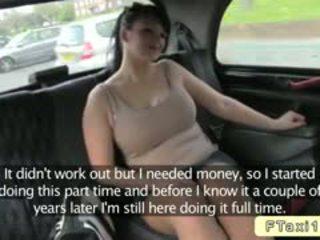 Malaking suso british baguhan bangs fake taxi driver sa publiko