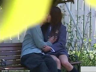 Daylight Outdoor Sex In University Campus